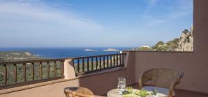 Appartamento con vista mare a Porto Cervo