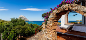 Villa sul mare con vista panoramica